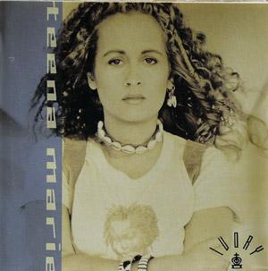 Album  Cover Teena Marie - Ivory on EPIC Records from 1990