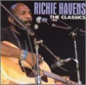Album  Cover Richie Havens - The Classics on REBOUND Records from 1995