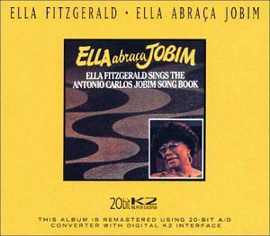 Album  Cover Ella Fitzgerald - Ella Abraca Jobim on PABLO Records from 1980