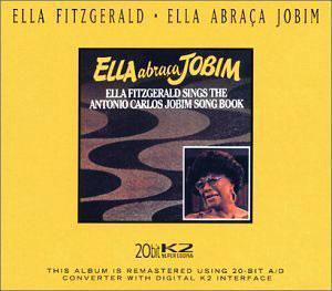 Album  Cover Ella Fitzgerald - Ella Abraca Jobim on PABLO Records from 1980
