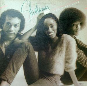 Album  Cover Shalamar - Three For Love on SOLAR Records from 1980
