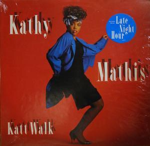 Album  Cover Kathy Mathis - Katt Walk on TABU Records from 1987