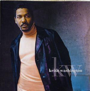 Album  Cover Keith Washington - Kw on MCA Records from 1998