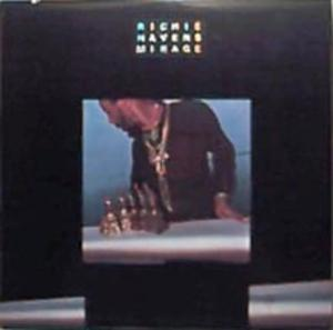 Album  Cover Richie Havens - Mirage on A&M Records from 1977
