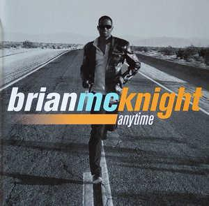 Album  Cover Brian Mcknight - Anytime on MOTOWN Records from 1998