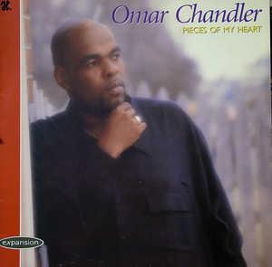 Album  Cover Omar Chandler - Pieces Of My Heart on JAMM Records from 1995