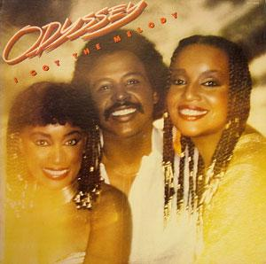 Album  Cover Odyssey - I Got The Melody on RCA Records from 1981