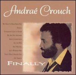 Front Cover Album Andraé Crouch - FINALLY