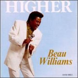 Album  Cover Beau Williams - Higher on LIGHT Records from 1990