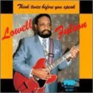 Front Cover Album Lowell Fulson - Think Twice Before You Speak