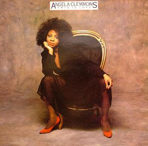 Front Cover Album Angela Clemmons - This Is Love