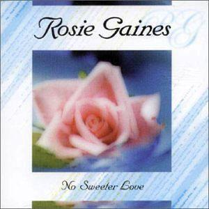 Album  Cover Rosie Gaines - No Sweeter Love on EXPANSION Records from 2000