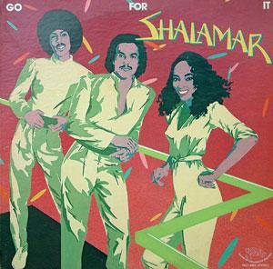 Album  Cover Shalamar - Go For It on SOLAR Records from 1981