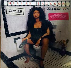 Album  Cover Millie Jackson - Back To The Shit on JIVE Records from 1989