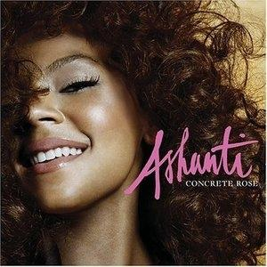 Front Cover Album Ashanti - Concrete Rose