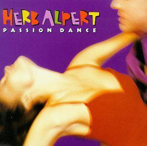 Front Cover Album Herb Alpert - Passion Dance
