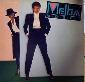 Front Cover Album Melba Moore - Never Say Never