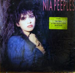 Front Cover Album Nia Peeples - Nothin' But Trouble