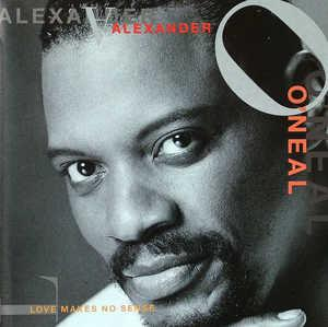 Album  Cover Alexander O' Neal - Love Makes No Sense on TABU Records from 1993