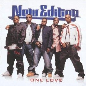 Album  Cover New Edition - One Love on BAD BOY Records from 2004