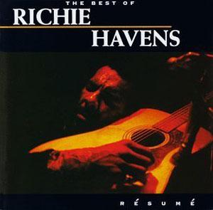 Album  Cover Richie Havens - Resume: The Best Of Richie Havens on RHINO Records from 1993
