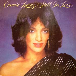 Album  Cover Carrie Lucas - Still In Love on SOLAR Records from 1982