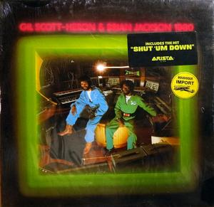 Album  Cover Gil Scott Heron - 1980 on ARISTA Records from 1979