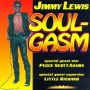 Album  Cover Jimmy Lewis - Soulgasm on MARDIS GRAS Records from 1997