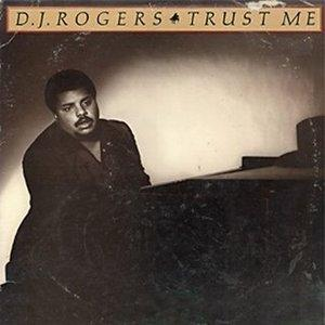 Album  Cover Dj Rogers - Trust Me on ARC (CBS) Records from 1979