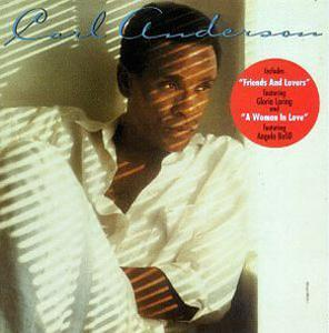 Album  Cover Carl Anderson - Friends And Lovers on EPIC Records from 1986