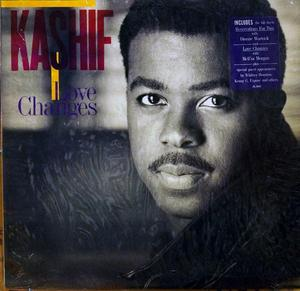 Album  Cover Kashif - Love Changes on ARISTA Records from 1987
