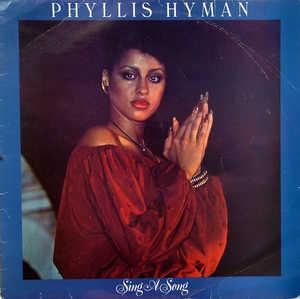 Album  Cover Phyllis Hyman - Sing A Song on BUDDAH Records from 1978