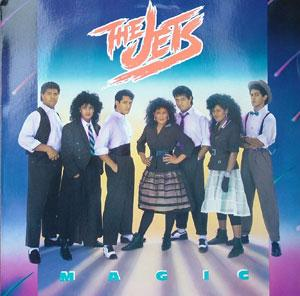 Album  Cover The Jets - Magic on MCA Records from 1987