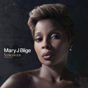 Album  Cover Mary J. Blige - Stronger With Each Tear on GEFFEN Records from 2009