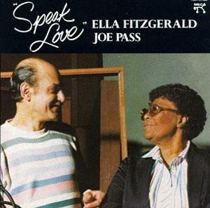 Album  Cover Ella Fitzgerald - Speak Love on PABLO Records from 1982