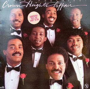 Album  Cover Crown Heights Affair - Think Positive on DELITE Records from 1982