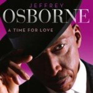 Album  Cover Jeffrey Osborne - A Time For Love on SAGUARO ROAD Records from 2013
