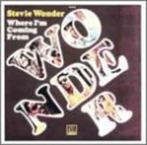 Album  Cover Stevie Wonder - Where I'm Coming From on TAMLA Records from 1971