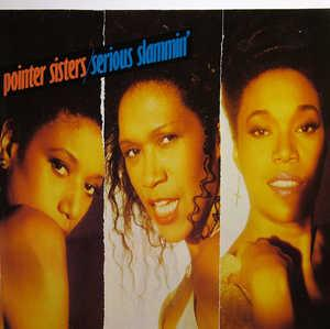 Album  Cover Pointer Sisters - Serious Slammin' on RCA Records from 1988