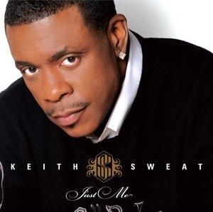 Album  Cover Keith Sweat - Just Me on RHINO Records from 2008