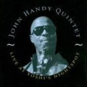 Album  Cover John Handy - Live At Yoshi's Nightspot on BOULEVARD Records from 1996