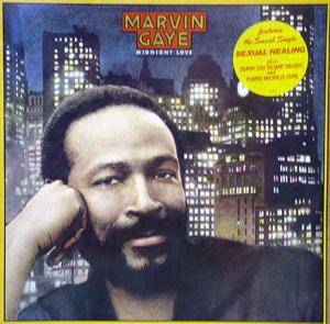 Album  Cover Marvin Gaye - Midnight Love on COLUMBIA Records from 1982