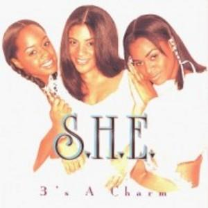 Album  Cover 3's A Charm - S.h.e. on INTERSCOPE Records from 1997
