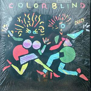 Front Cover Album Colorblind - Crazy