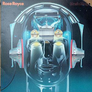 Album  Cover Rose Royce - Music Magic on MONTAGE Records from 1981