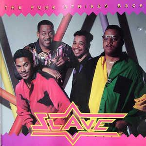 Front Cover Album Slave - The Funk Strikes Back