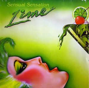 Album  Cover Lime - Sensual Sensation on MATRA (DOWNSTAIRS LTD.) Records from 1984