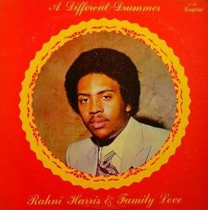 Album  Cover Rahni Harris - A Different Drummer on EMPRISE Records from 1977