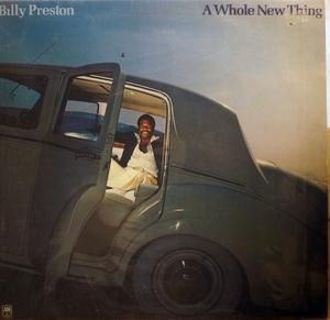 Album  Cover Billy Preston - A Whole New Thing on A&M Records from 1977