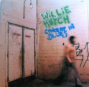 Front Cover Album Willie Hutch - Concert In Blues